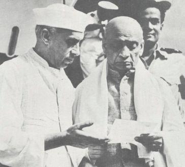 Nehru & Patel