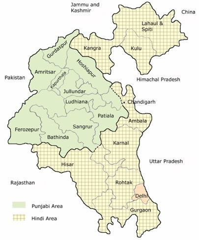 Reorg of Punjab 1966